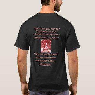 Manar grundläggande mörk hästskoT-tröja Tshirts