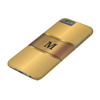 Manar guld- Look för Monogram Barely There iPhone 6 Fodral