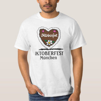 Manar hjärta för pepparkaka för T-tröjaoktoberfest T-shirt