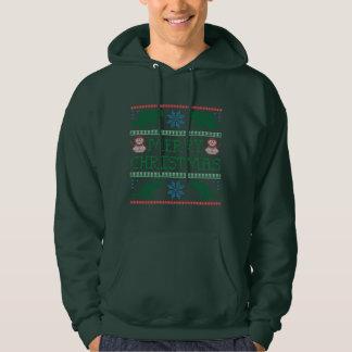 Manar Hoodie för tröja för julafton för
