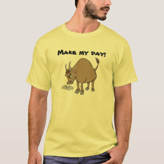 Manar humoristisk ilsken tjurT-tröja Tee Shirts