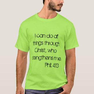 Manar kristna T-tröja T-shirt