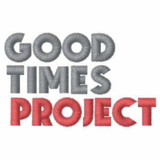 Manar/kvinna Goodtimes projekterar jackan Broderad Jacka