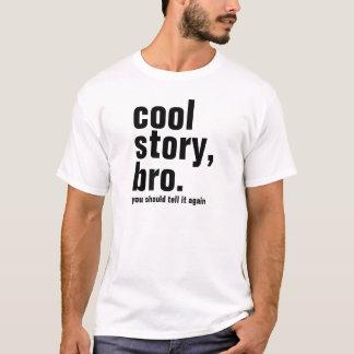 Manar kyler berättelsebroen, dig bör berätta den t-shirt