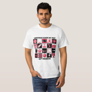 Manar Lakeville klassificerar av T-tröja 1987 Tee Shirt