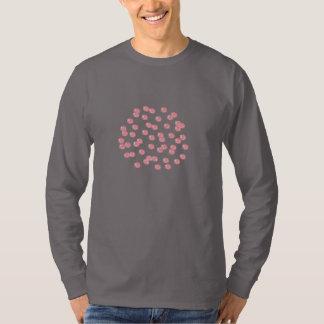 Manar långärmadT-tröja med röd polka dots T-shirts