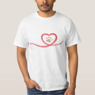 Manar logotyp för vitslätt t-shirts