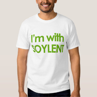 Manar noveltyT-tröja - I-förmiddag MED SOYLENT T-shirt