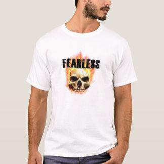 Manar oförskräckt T-tröja för vit T-shirts