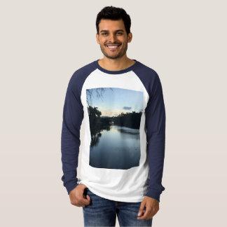 Manar Shirt. för Raglan T för kanfaslångärmad Tröjor