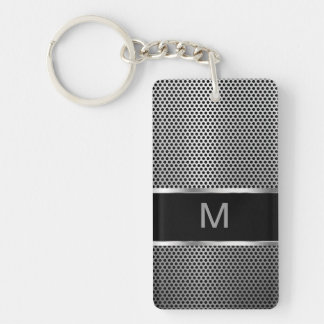 Manar sida Keychain för Monogram två