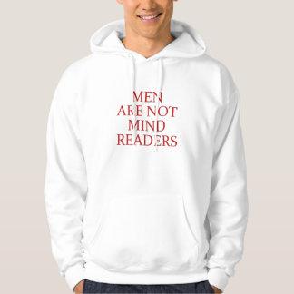 Manar ska inte vara besvärad avläsare sweatshirt med luva
