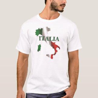 Manar skjorta för Italia karta Tshirts