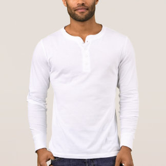 Manar skjorta för kanfasHenley långärmad, vit Tee