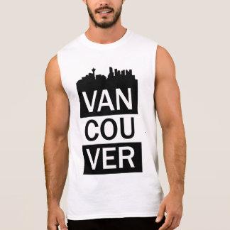 Manar sleeveless t-skjorta med Vancouver att märka Sleeveless Tees