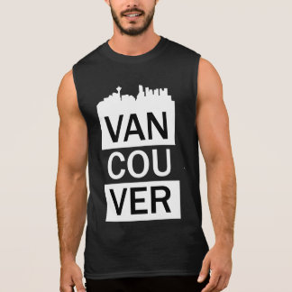Manar sleeveless t-skjorta med Vancouver att märka Sleeveless Tröjor