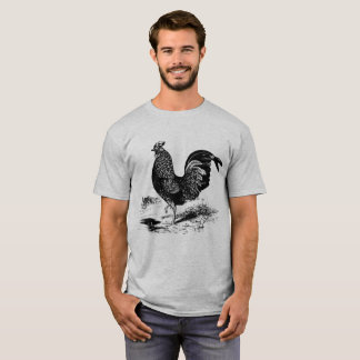 Manar t-skjorta för tupp för vintageland tröjor