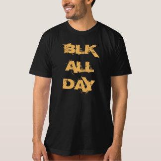 Manar T-tröja för dräkt för BLK-amerikan organisk Tröja