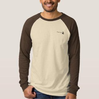 Manar T-tröja för Raglan för kanfaslångärmad T Shirt