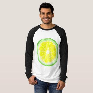 Manar T-tröja för Raglan för kanfaslångärmad Tee Shirt