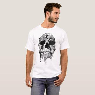 Manar T-tröja för skalle för vit stekflott bedömd Tee