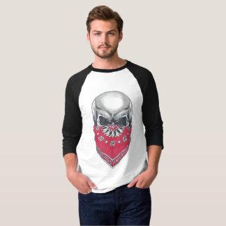 Manar T-tröja för sleeve för Banadana skalle 3/4 Tee Shirts