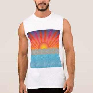 Manar Ultra Sleeveless T-tröja för bomull Sleeveless Tee