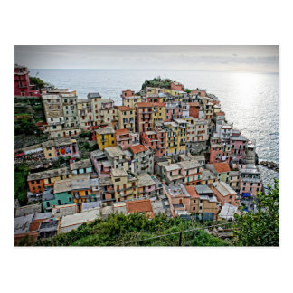 Manarola - Cinquen Terre - italienvykort Vykort