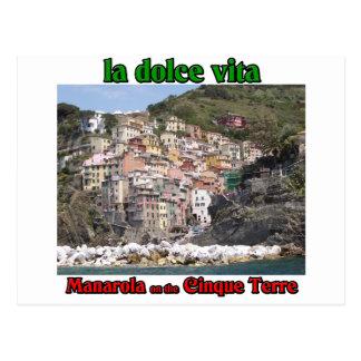 Manarola italien vykort