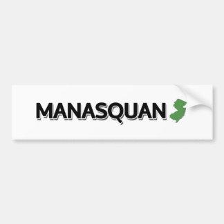 Manasquan som är ny - jersey bildekal