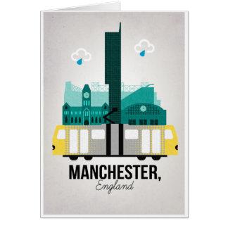 Manchester Hälsningskort