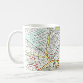 Manchester karta kaffemugg