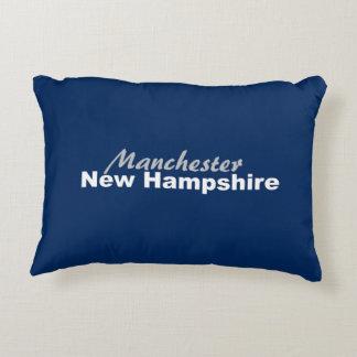 Manchester New Hampshire kudder Prydnadskudde