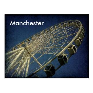 Manchester rullar vykort