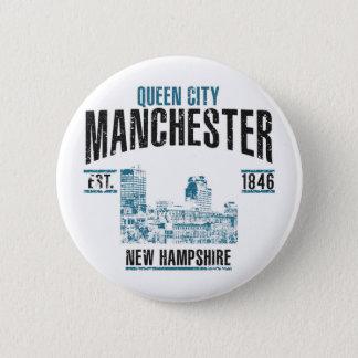 Manchester Standard Knapp Rund 5.7 Cm