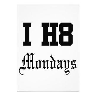 måndagar