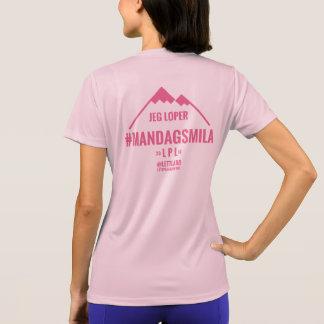#Mandagsmila Dametrøye 2015 - med-dittnavn T-shirt