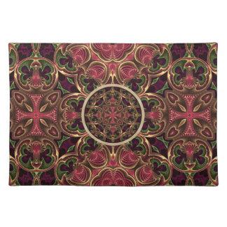 Mandala abstrakt för KaleidoscopeTapestrykor Bordstablett