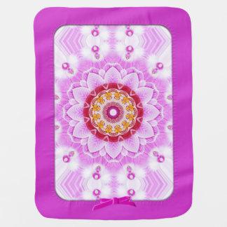Mandala (C) från fotoet för Bebisfilt