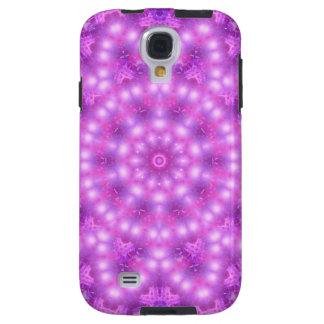 Mandala för diamantstjärnablomma galaxy s4 fodral