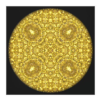 """Mandala """"för gammalt guld"""" canvastryck"""