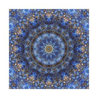 """Mandala """"för laminat för Lapis Lazuli"""" Canvastryck"""