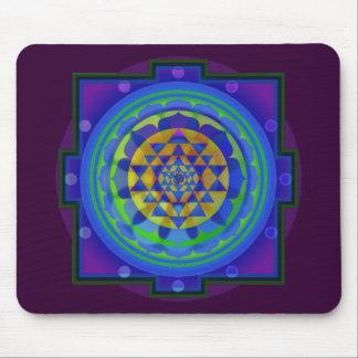 Mandala för Om (AUM) Yantra Musmatta