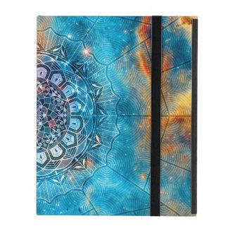 Mandala + Galax iPad Folio Skal