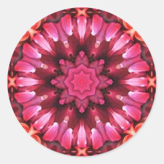 Mandala 'Jodhpur Runt Klistermärke