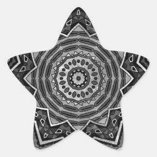 Mandala Stjärnformat Klistermärke
