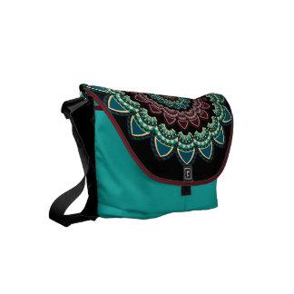 Mandalaperson som tillhör en etnisk minoritet kurir väskor