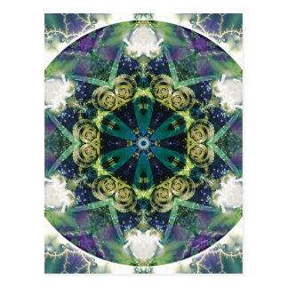 Mandalas av förlåtelse och frigörare 20 vykort