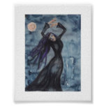 Måndans - Moon dance Poster