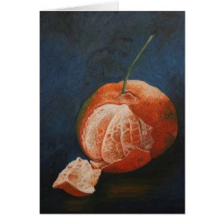 Mandarina Hälsningskort